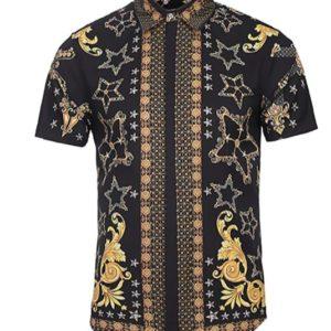 camisa hippie hombre