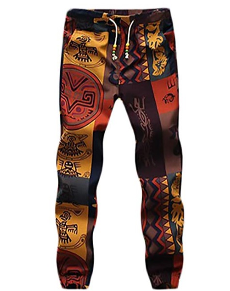 pantalon hippie hombre