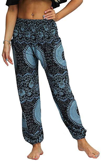 Pantalón Hippie Estampado para Mujer